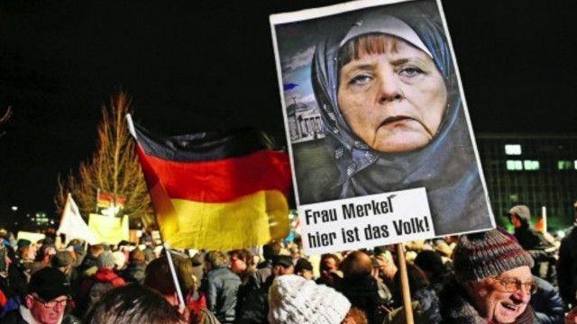 Ультраправые в Дрездене считают, что беженцев стало слишком много