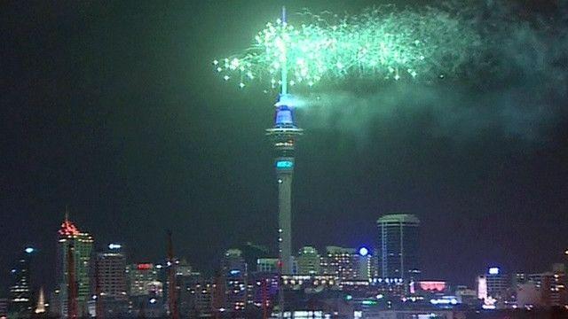 Nueva Zelanda, Los Primeros En Celebrar El Año Nuevo Con