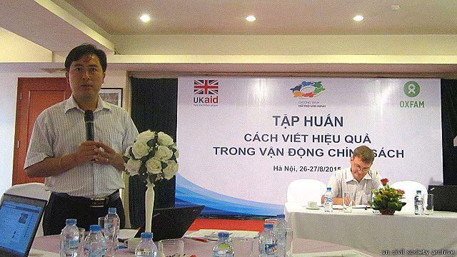 TS. Phạm Quang Tú, Oxfam Việt Nam