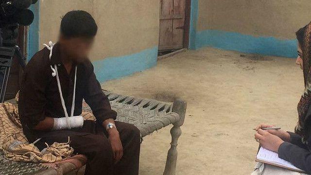 पाकिस्तान में हाथ काटा