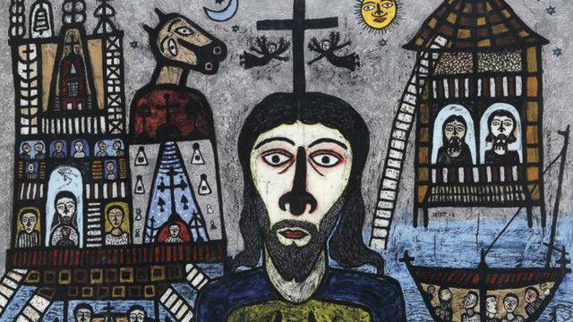 माधवी पारेख की पेंटिंग