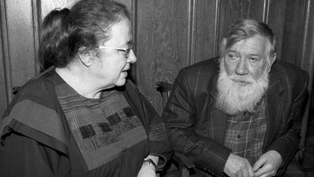 Андрей Синявский и Мария Розанова