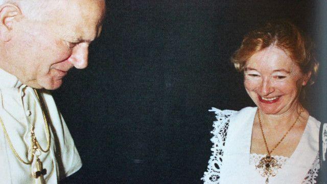 Иоанн Павел II и Анна-Тереза Тыменецка