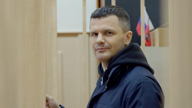 Дмитрий Каменщик в Басманном суде Москвы