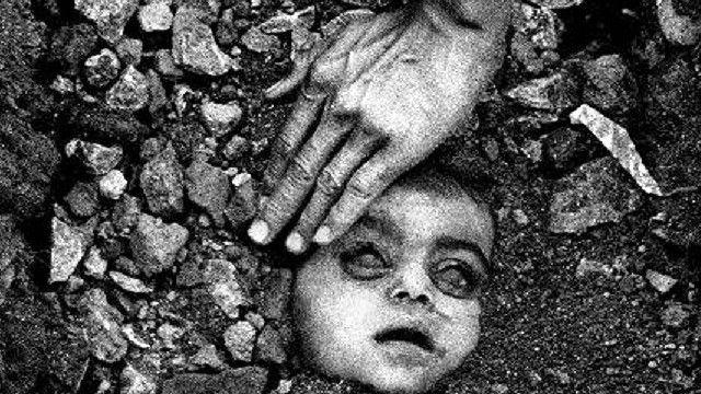 भोपाल गैस कांड के दौरान रघु राय की खींची तस्वीर