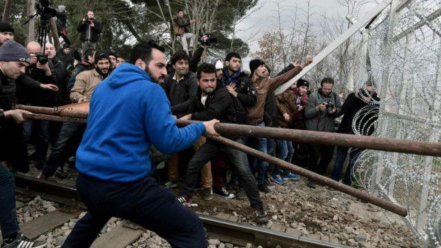 macedonia refugees