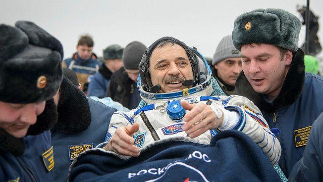 космонавт Михаил Корниенко
