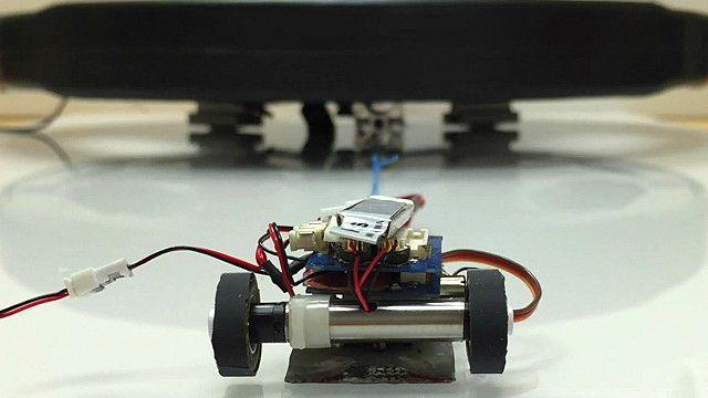 Hormigas robóticas