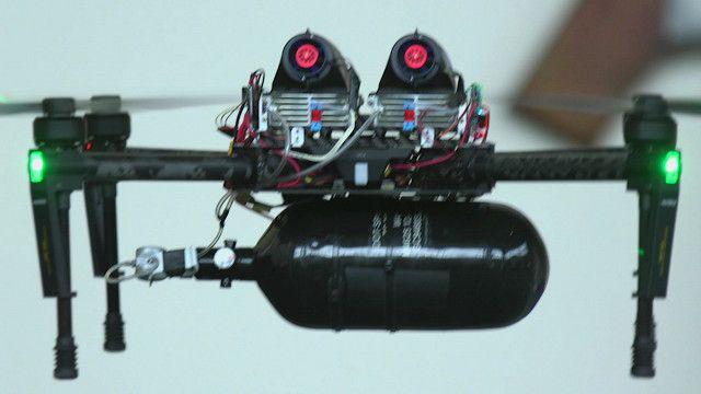 Беспилотный летательный аппарат с водородным топливным элементом