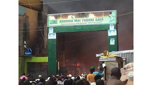 sabongari fire outbreak