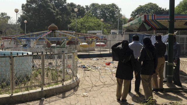 लाहौर धमाका पाकिस्तान