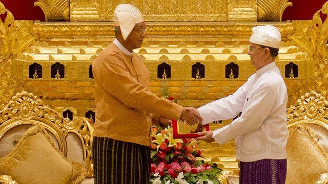 myanmar_new_president_sworn_in