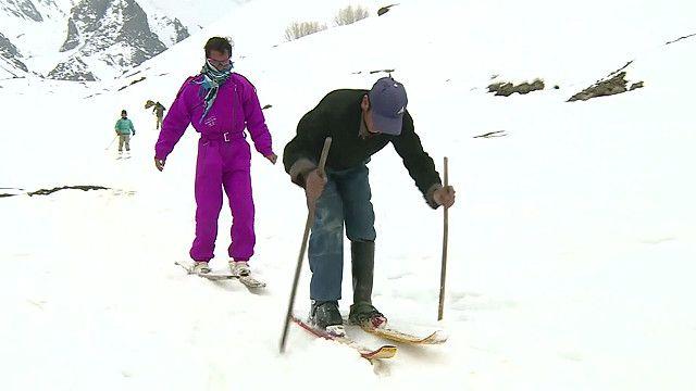 На лыжах в Афганистане