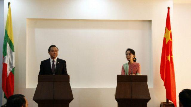 China Burma visit