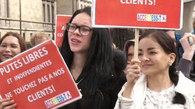 акция протеста работников секс-индустрии