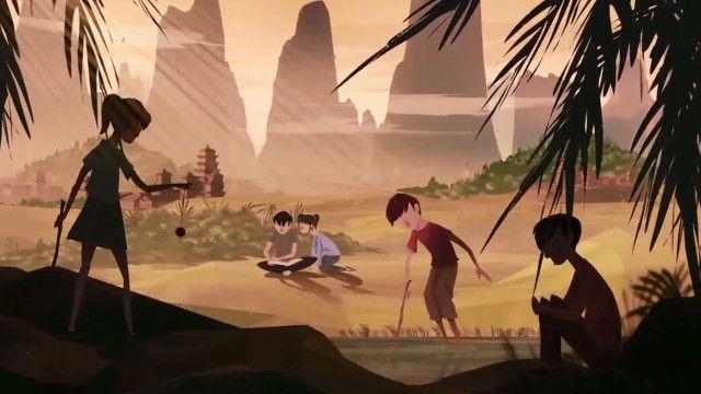 中國留守兒童動畫截屏