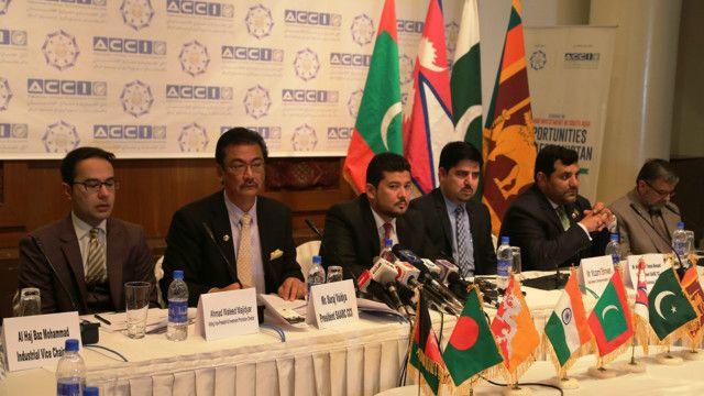 افغانستان خواستار حذف موانع بارزگانی از سوی اعضا سارک شد