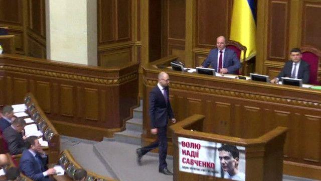 Арсений Яценюк ушел с поста премьера, но не из политики
