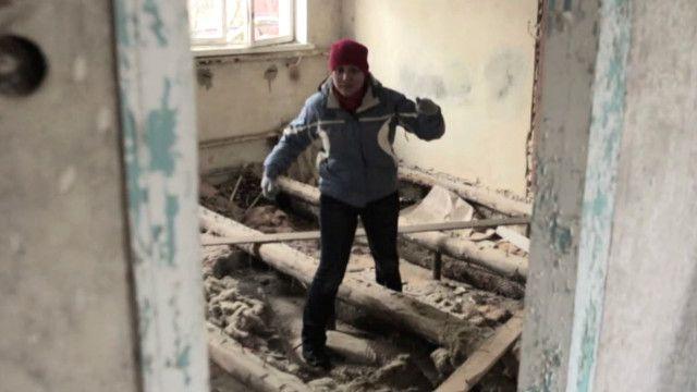 Марина Навальная в родном доме
