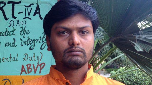सौरभ शर्मा, जेएनयू, छात्र संघ, कन्हैया