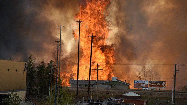 Cháy lớn tại Alberta, Canada