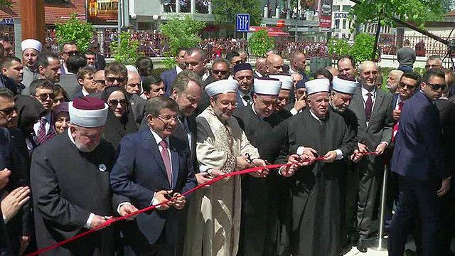 إعادة افتتاح مسجد عثماني قديم دمرته حرب البوسنة