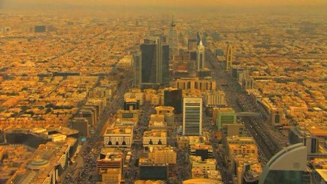 Панорама Эр-Рияда