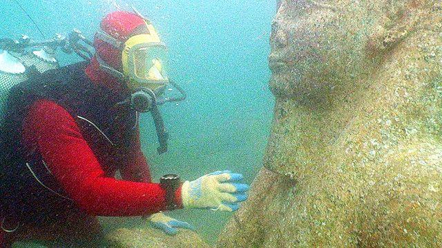 Tesoros egipcios bajo el mar