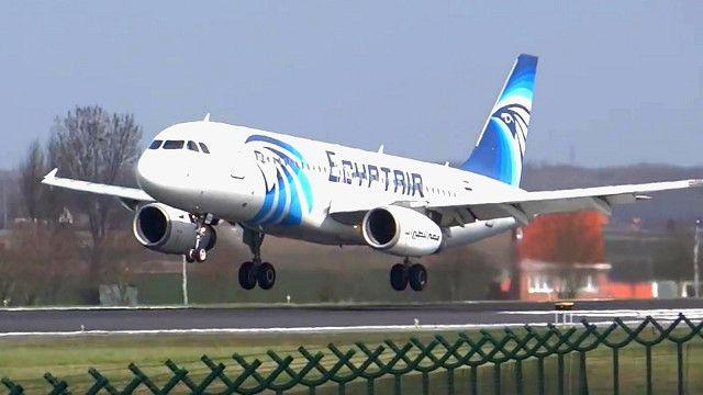 Самолет EgyptAir до крушения
