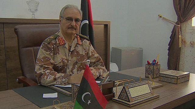 حفتر: حكومة الوفاق تعتمد على عدد من الميليشيات