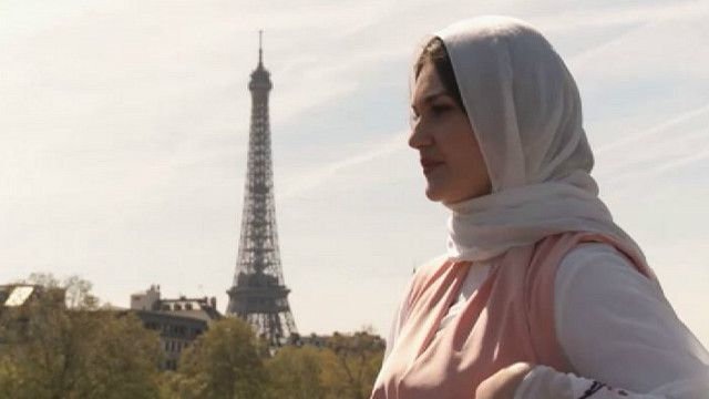 Исламская мода в Париже: фотосессия