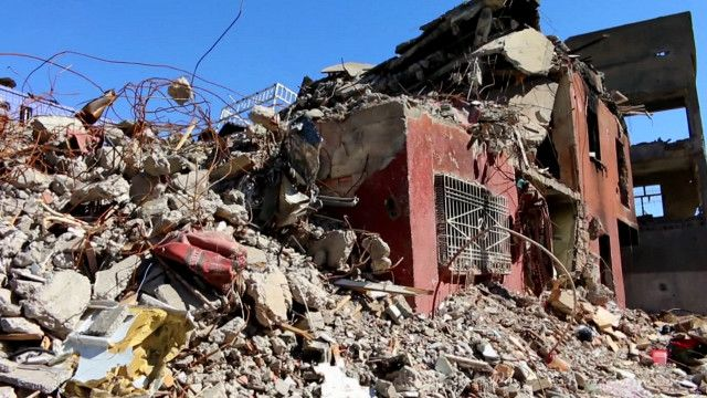 جز یرے میں تباہی کا ایک منظر