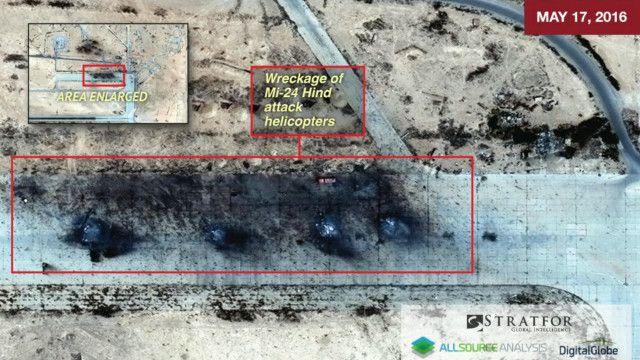 Спутниковый снимок базы Тияс