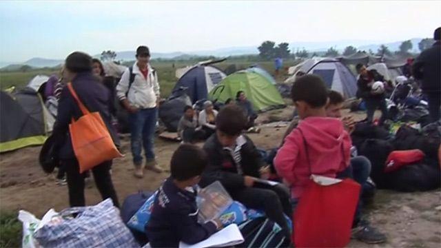 Лагерь в Идомени