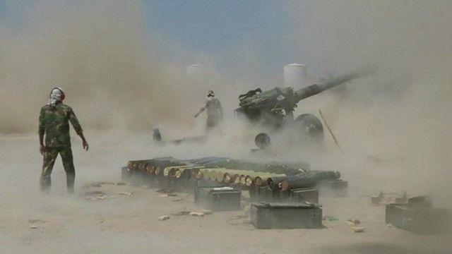 Армия Ирака ведет наступление на Фаллуджу