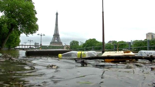 Затонувший Париж