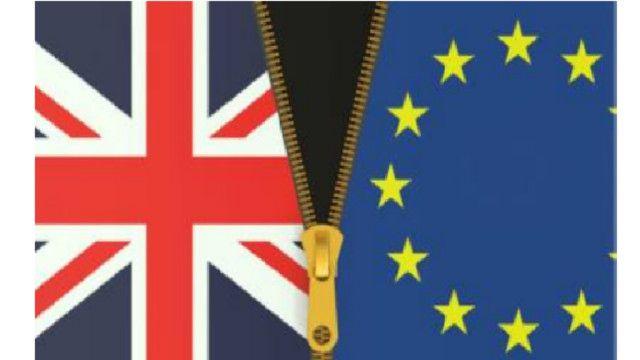 Cờ Anh và cờ EU