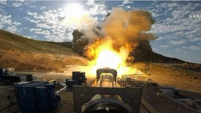 НАСА випробувала свою найпотужнішу ракету