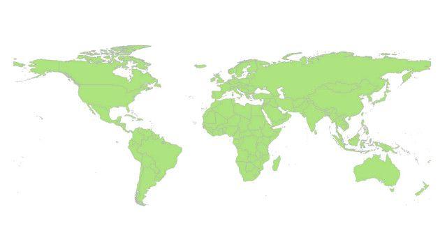 خريطة متحركة تظهر الخسائر البشرية في الحروب