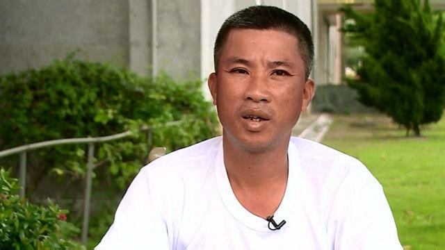 Ông Bùi Trọng Văn, người sống sót trên tàu cá Đài Loan bị trúng đạn