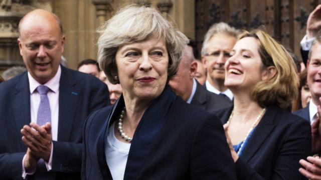 टरीजा मे ब्रिटेनकी नयाँ प्रधानमन्त्री