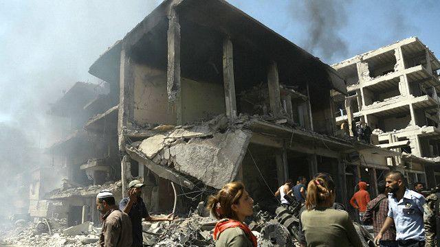 انفجاران يهزان مدينة القامشلي السورية