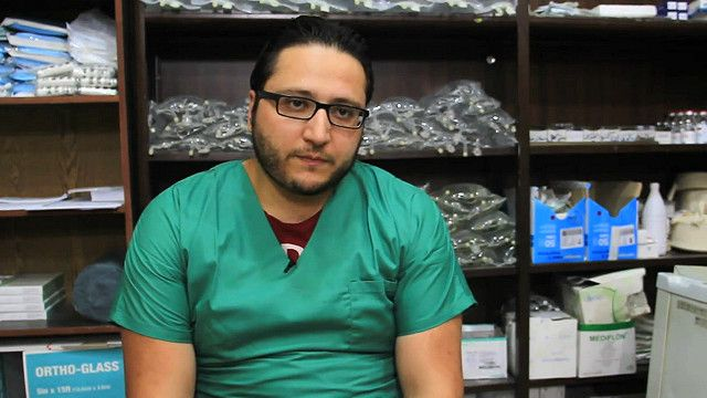 طبيب من حلب يروي لبي بي سي معاناة السكان