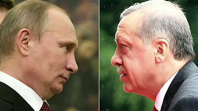 اردوغان يلتقي ببوتين بعد انفراج في العلاقات
