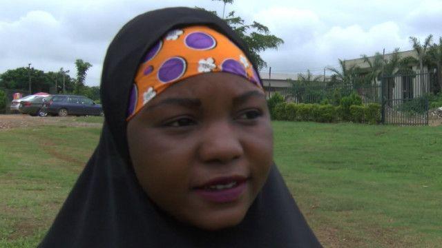Bilkisu Sa'id ta kammala karatun sakandare a jos, Nigeria