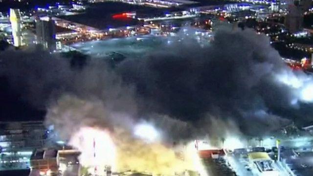 Відомий готель Лас-Вегаса зруйнували