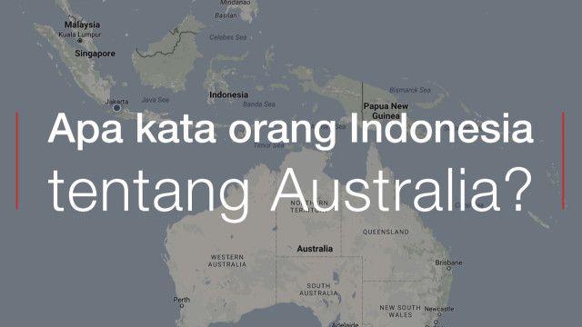 survey australia indonesia