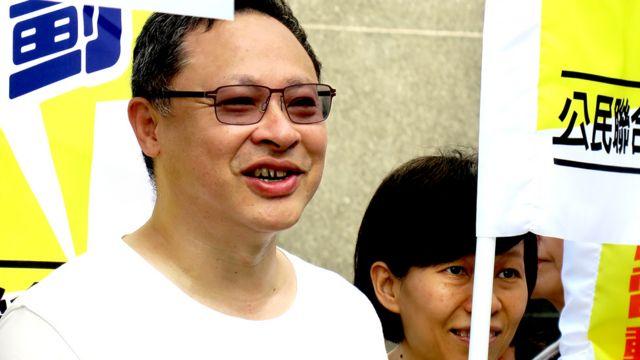 戴耀庭(BBC中文网图片21/8/2016)