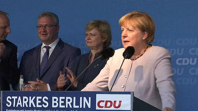 ألمانيا: تراجع واضح في شعبية حزب ميركل قبل انتخابات الأحد