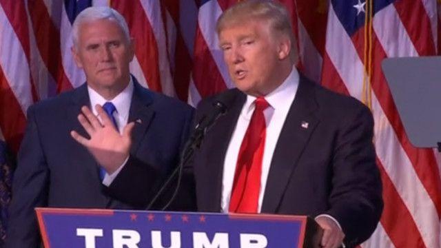 Трамп закликав американців об'єднатись